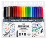 Fineliner 18 culori/set Koh-I-Noor