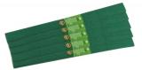 Hartie creponata 200 x 50 cm, culoare verde, 10 buc/set Koh-I-Noor