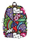 Rucsac 36 cm Half Blok Artipacks - Heart To Heart Madpax