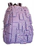 Rucsac 36 cm Half Blok - Purple Reign Madpax