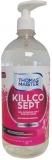 Lotiune igienizanta, dezinfectant maini, 75% alcool, Killcosept 1 L Thomas Maister