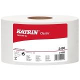 Hartie igienica rola Classic Gigant S2, 100 m, 12 buc/set Katrin