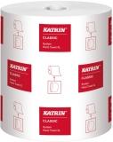 Rola prosop hartie Classic System XL 1 str alb Katrin