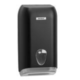Dispenser hartie igienica pliata, negru, Katrin