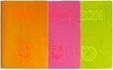 Caiet A5, NEON PP, velin, 42 file, 80g/mp, diverse culori Koh-I-Noor