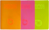 Caiet A4, NEON PP, matematica, 42 file, 80g/mp, diverse culori Koh-I-Noor