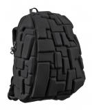 Rucsac 36 cm Half Blok Colors - Black Out Madpax