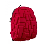 Rucsac 36 cm Blok Half rosu Madpax