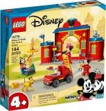 Statia si camionul de pompieri ale lui Mickey si prietenilor sai 10776 LEGO Disney