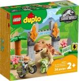 Evadarea dinozaurilor T-Rex si Triceratops 10939 LEGO Duplo