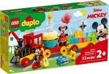 Trenul aniversar Mickey si Minnie LEGO Duplo