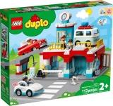 Garaj si spalatorie de masini 10948 LEGO Duplo