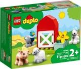 Ingrijirea animalelor de la ferma 10949 LEGO Duplo