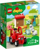Tractor si animale de la ferma 10950 LEGO Duplo
