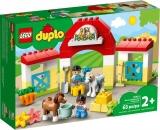 Grajdul cailor si al poneilor 10951 LEGO Duplo