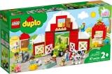 Hambar, tractor si animale de la ferma 10952 LEGO Duplo
