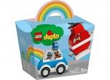 Elicopter de pompieri si masina de politie 10957 LEGO Duplo