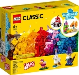 Caramizi transparente 11013 LEGO Classic