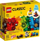 Caramizi si roti 11014 LEGO Classic