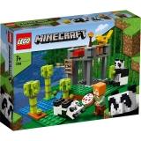 Cresa ursilor panda 21158 LEGO Minecraft