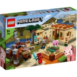 Raidul Illager 21160 LEGO Minecraft