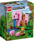 Casuta purcelusilor 21170 LEGO Minecraft