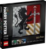 Stemele caselor de la Hogwarts 31201 LEGO Art