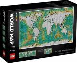 Harta lumii 31203 LEGO Art