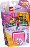Cubul de joaca si cumparaturi al Andreei 41405 LEGO Friends