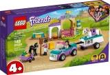 Dresaj de cai si remorca 41441 LEGO Friends