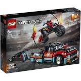 Camion si motocicleta pentru cascadorii 42106 LEGO Technic