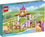 Grajdurile regale ale lui Belle si Rapunzel 43195 LEGO Disney