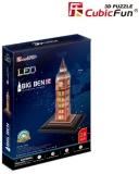 Puzzle 3D Led Big Ben 28 Piese Cubicfun