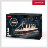 Puzzle 3D Led Titanic 266 Piese Cubicfun