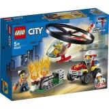 Interventie cu elicopterul de pompieri 60248 LEGO City