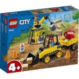 Buldozer pentru constructii 60252 LEGO City