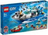 Barca de patrula a politiei 60277 LEGO City