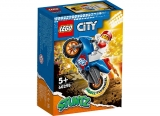 Motocicleta de cascadorii cu racheta 60298 LEGO City