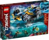 Bolidul subacvatic 71752 LEGO Ninjago