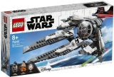 TIE Interceptor Asul negru 75242 LEGO Star Wars