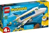 Pilot Minion in pregatire 75547 LEGO Minions