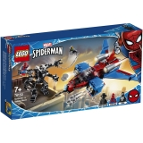 Spiderjet contra Robotul Venom 76150 LEGO Spiderman Marvel Super Heroes