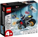 Infruntarea dintre Captain America si Hydra 76189 LEGO Marvel Super Heroes