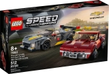 Chevrolet Corvette C8.R si 1968 Chevrolet Corvette 76903 LEGO Speed Champions