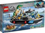 Evadarea cu barca a dinozaurului Baroyonyx 76942 LEGO Jurassic World