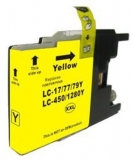 Cartus compatibil Brother LC1280XL Y yellow ink Euro Print
