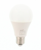 Bec LED cu lumina rece, 14 W, 230 V, 1251 lm, A65 E27 Well