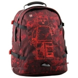 Rucsac Tech Teen Core Line Minifigures Burgundy Camo LEGO