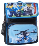 Ghiozdan scoala Recruiter Core Line City Police Chopper LEGO