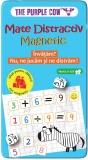 Joc educativ Mate distractiv magnetic, Purple Cow